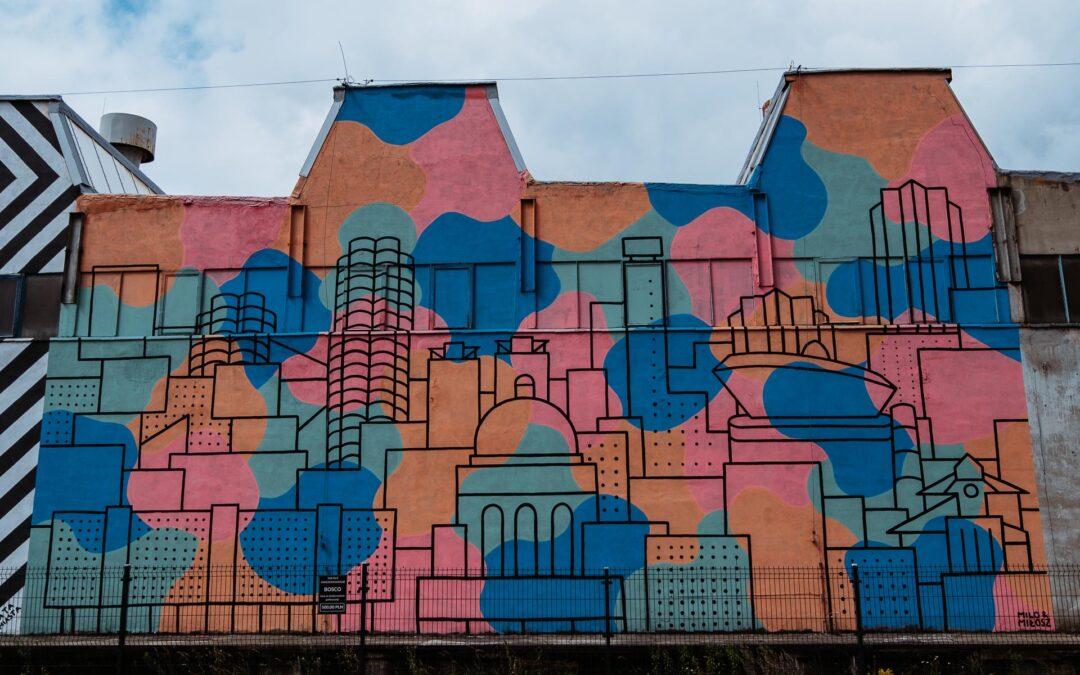 Twarze szlaku katowickich murali: Milo Banachowicz