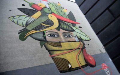 Twarze szlaku katowickich murali: Jan Raspazjan