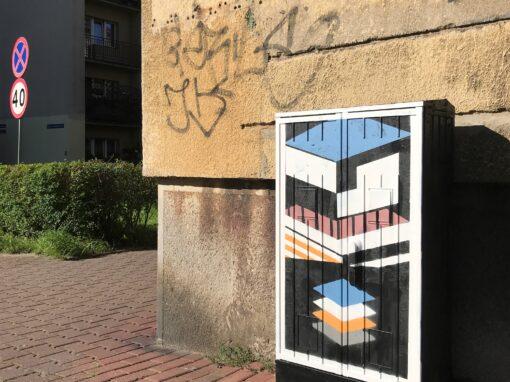 Moderna na skrzynkach – Kominka/ Adamskiego