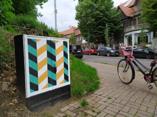 Moderna na skrzynkach – PCK/ Kilińskiego