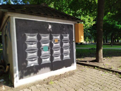 Moderna na skrzynkach – Plac Andrzeja