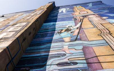 Twarze szlaku katowickich murali: Mona Tusz