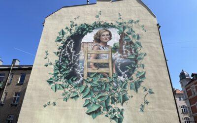 Twarze szlaku katowickich murali: Łukasz Zasadni